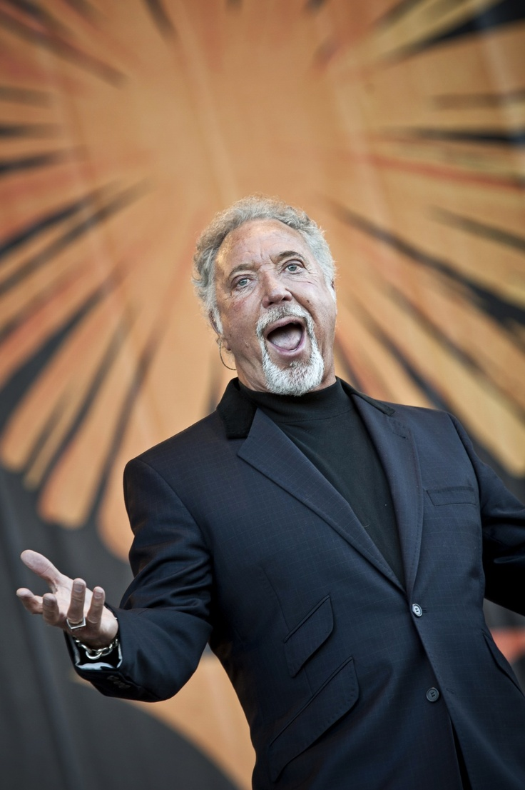 Tom Jones at Pori Jazz in July 2011.  -we were there :)