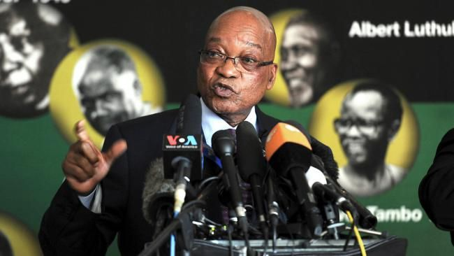 Government: The President of South Africa is Jacob Zuma. In South Africa you are elected for five year terms. You can serve up to two terms.