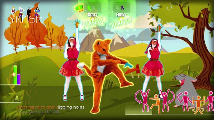Just Dance 2015 - Ylvis - The Fox (What does The Fox say?) - 5 Stars