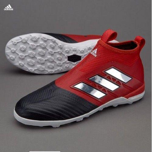 Kjope Adidas ACE Tango 17 Purecontrol TF Rod Svart Fotballsko
