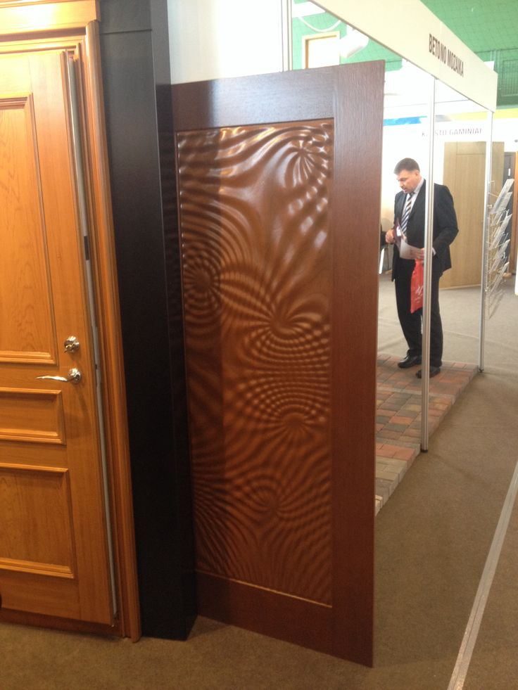 Doors Design: Wavy Door Panel Very Cool. Woodworking. CNC Machining