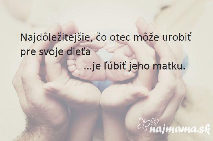 Odkaz všetkým otcom | Najmama.sk