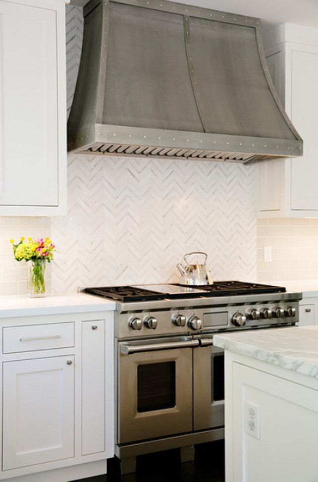 Chimney Hood Backsplash ~ Ideas about kitchen vent hood on pinterest