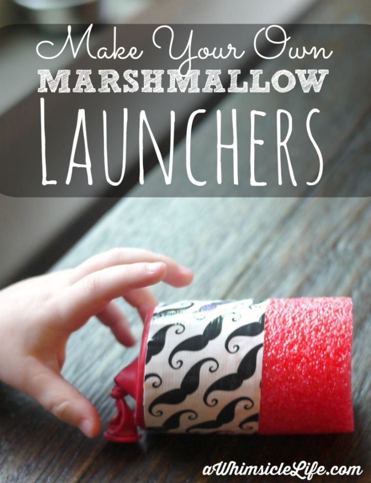 how to make a simple marble launcher