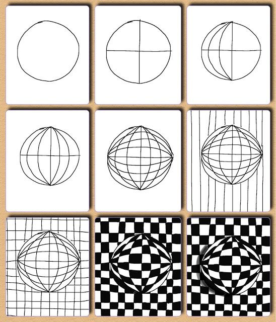 Link to OPTICAL ART LESSON http://juliannakunstler.com/art1_opt_des.html#.UjesPByI0nU