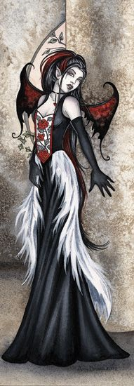 Elves Faeries Gnomes:  #Goth Faery, Amy Brown: Fairy Art ~ The Official Gallery.