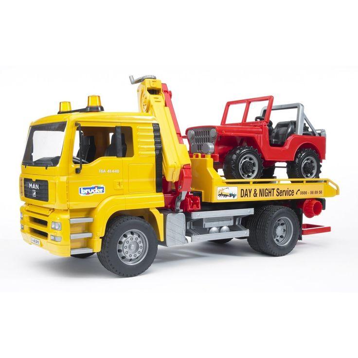 Camion de tractare si masina de teren Man Bruder 02750