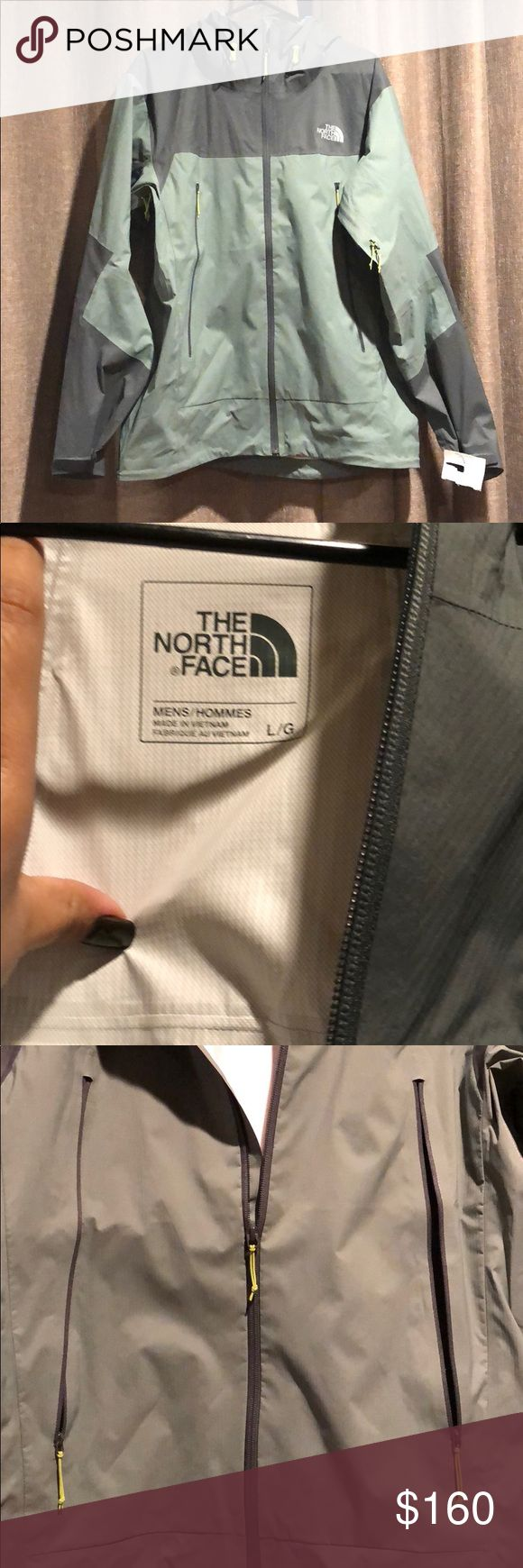 Brand new The North Face mens jacket Brand new The North Face mens jacket. Perfect for the cold weather. Beautiful color. Never worn The North Face Jackets & Coats