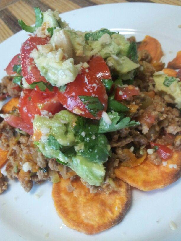 Nachos Paleo style. Chef Pete Evans facebook post.