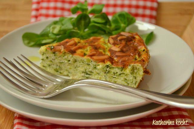 Torta di zucchine - Zucchinikuchen auf www.katharinakocht.com