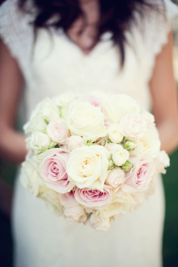 Rose #Bouquet |  See the wedding on #SMP: http://www.stylemepretty.com/destination-weddings/2013/01/04/viennese-garden-wedding-from-peaches-mint/  Peaches & Mint Photography