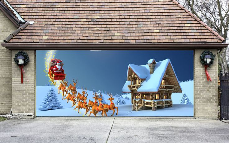 22 best images about garage door covers on pinterest for Outer decoration of house