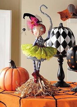Whimsically celebrate Halloween this fall with the Coraline Witch Figure that stands at an impressive 2ft. tall and boasts intricate and playful details.