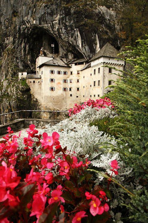 Predjama Castle  is a Renaissance castle built within a cave mouth in south-central Slovenia near Postojna Cave.