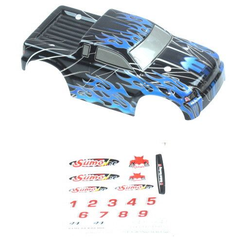 24203 Truck Body- Black+Blue for Sumo RC