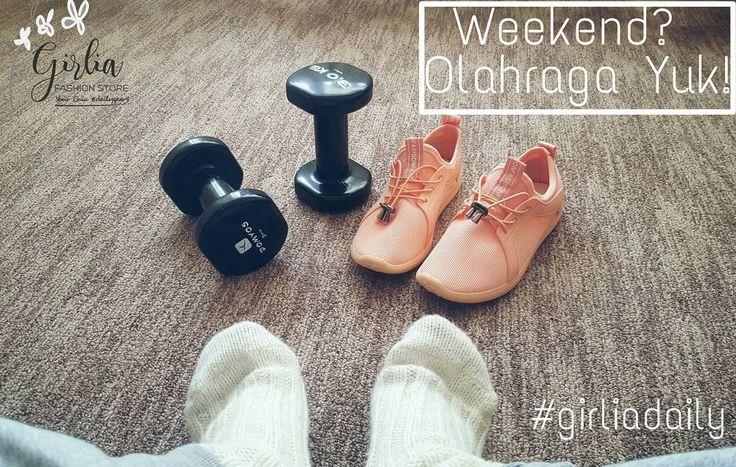 Jangan malas-malasan!  Kurusin perut kamu yang membuncit itu!  Yuk olahraga!  #girliadaily #workout