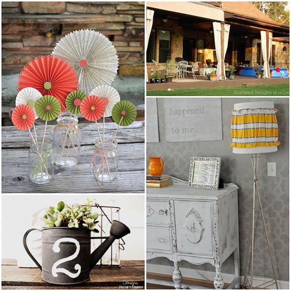 12 Easy Craft Ideas Home Decor Pinterest Home Decor Home