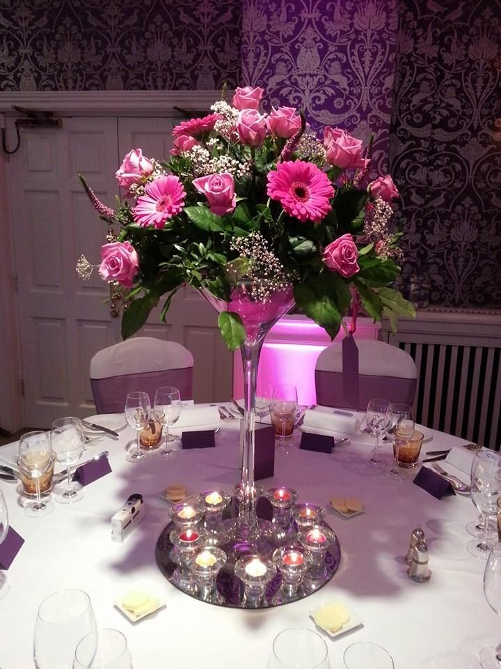 183 best Martini Centerpieces images on Pinterest | Table centers ...