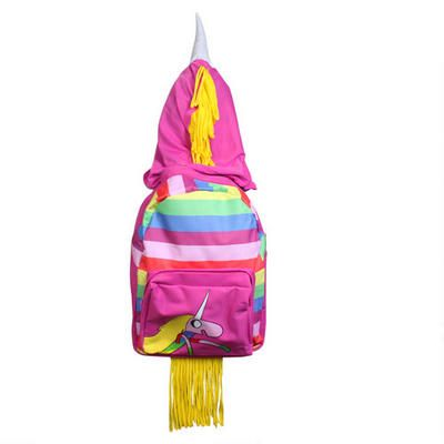 Lady Rainicorn backpack for my daughter to start school with