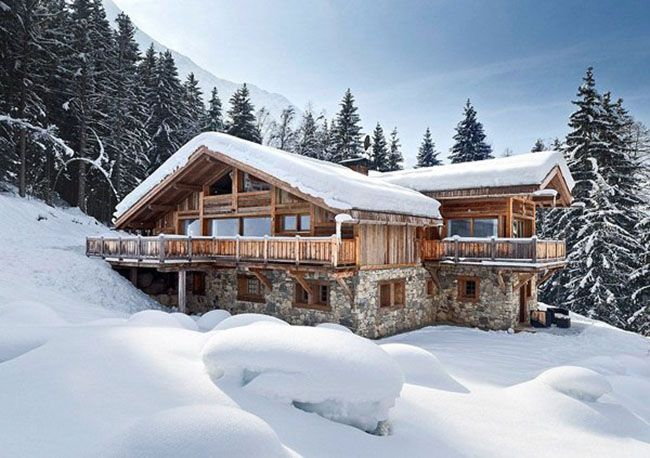 Nestled amongst the trees of the Chamonix Valley, French Alps this glorious modern chalet complex is comprised of three luxury chalets providing a perfect mix of living and entertaining space in the heart of the famous and exuberant Chamonix Valley ski area.      View More Photos