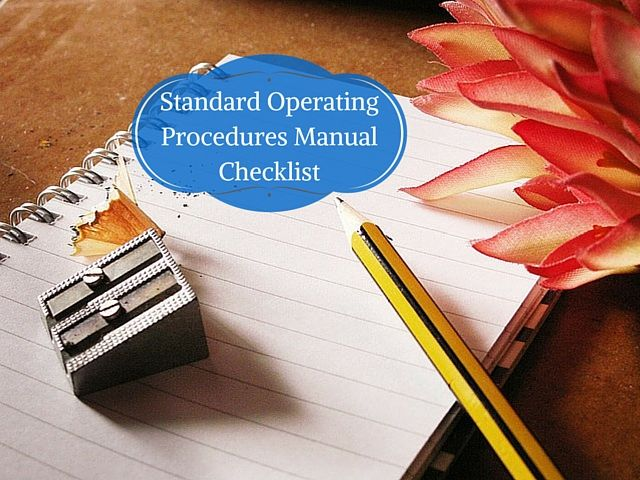 The 25 best ideas about Standard Operating Procedure – Free Office Procedures Manual Template