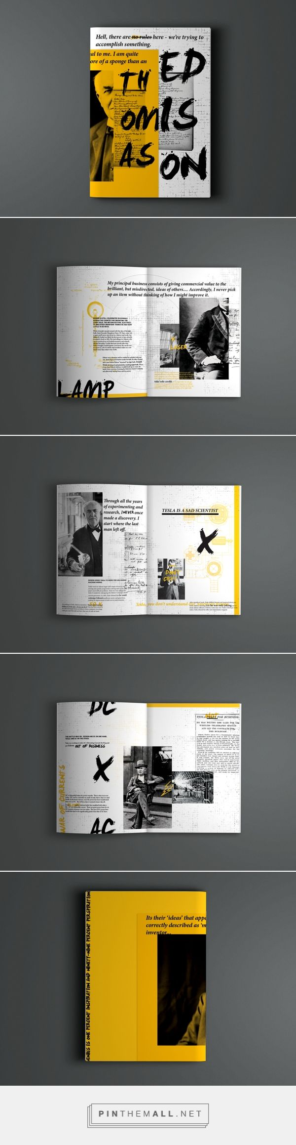Edison / brochure / layout
