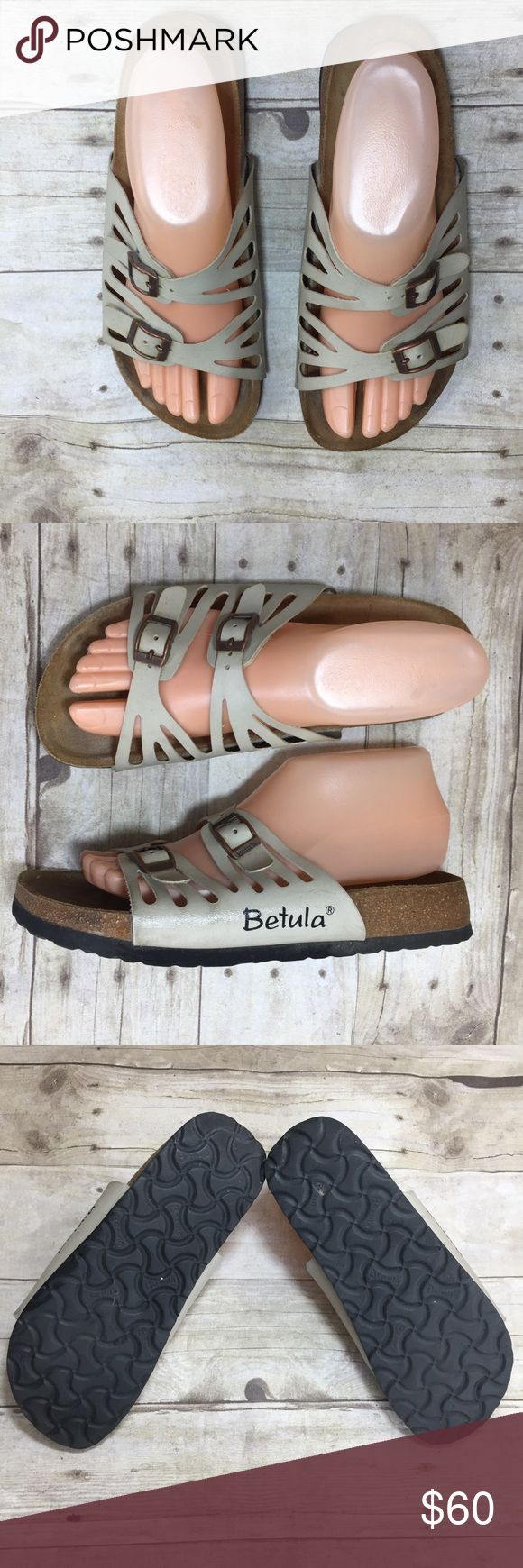 BIRKENSTOCK BETULA Sandals Tan Strap Granada 38 Beautiful tan sandals perfect for summer. The tan/beige color goes with anything. The sandals are in great used condition. Please see photos. Get them before they are gone. Birkenstock Shoes Sandals