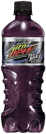 Mountain Dew Pitch Black.. wish they would bring this back!! It rocks!