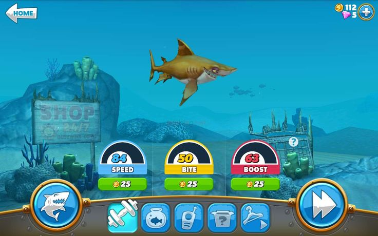 review game hungry shark world   jejeblog.net
