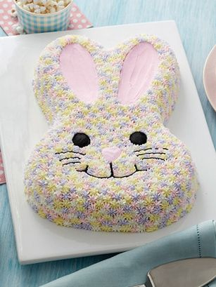We'll show you how to make 3 different cakes from 1 bunny pan. We have a recipe  for a gorgeous pastel bunny cake - a sweet and classic ending to your Easter. We've also got a Very Berry Bunny Cake, covered in fresh fruit and a creative and delicious Cereal Treat Easter Bunny Cake, which is pretty much the most adorable rice crispy treat around. Get ingredients at Walmart.com.