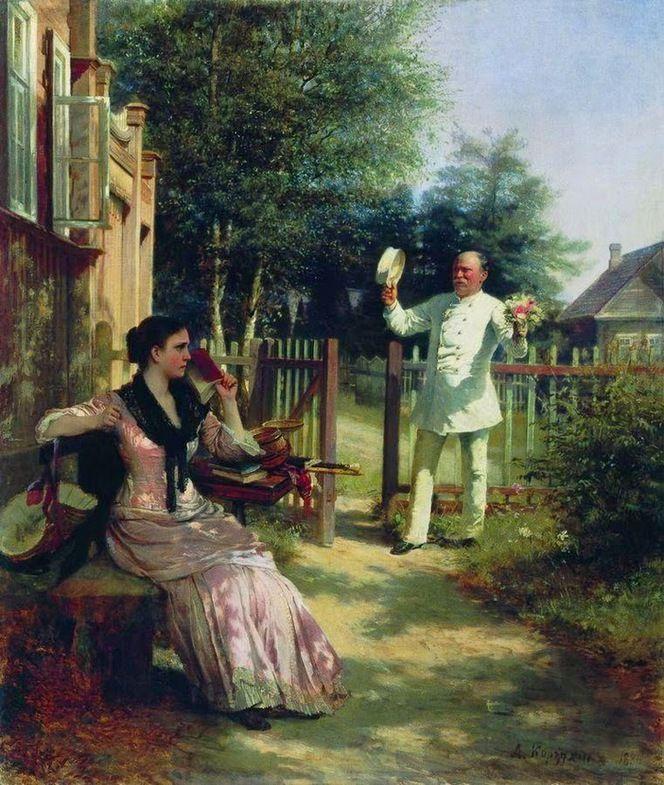 Корзухин Алексей Иванович (1835-1894гг) Надоел, 1886г