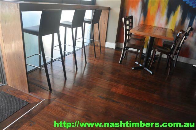 128mm x14mm Rustic Roasted Peat Solid Floor