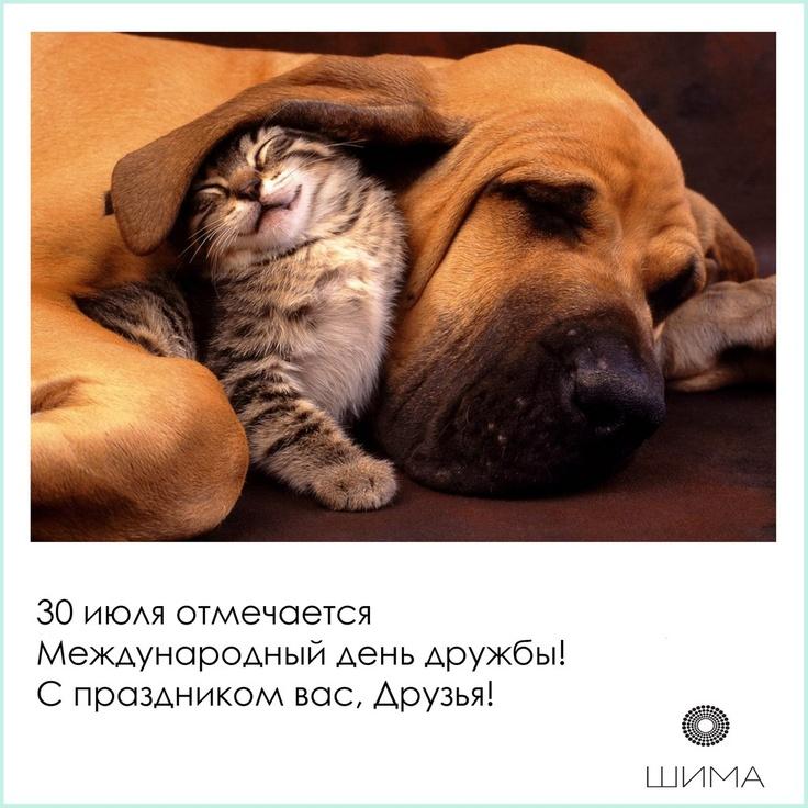 30 июля отмечается Международный день дружбы (International Day of Friendship) ! С праздником вас, Друзья!