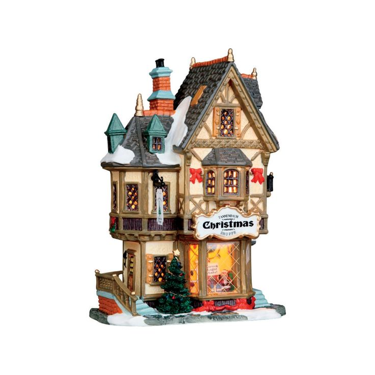 christmas village houses ace hardware