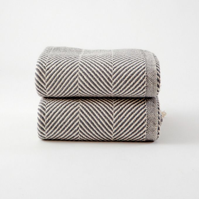 Herringbone Blanket by Folklore