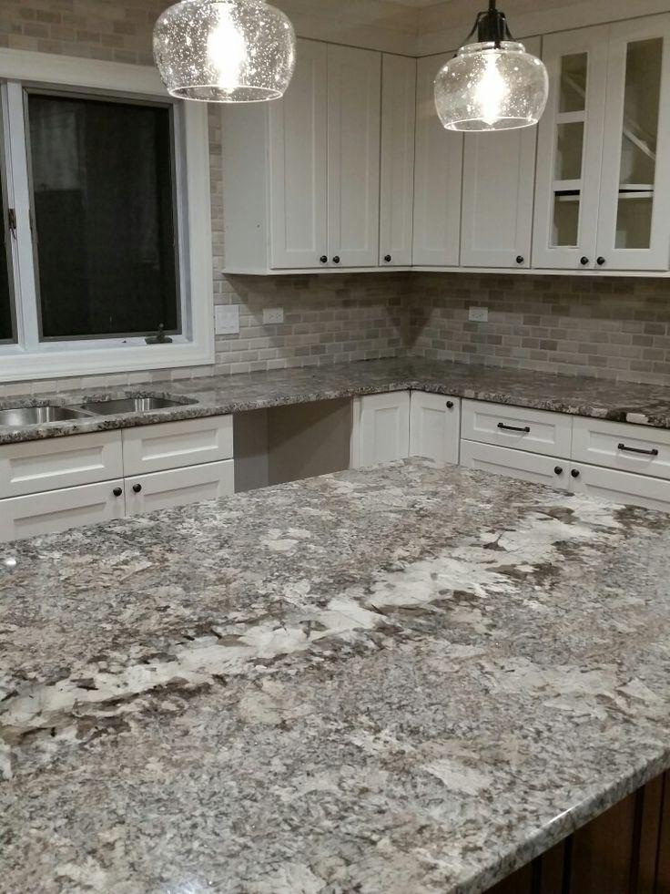 Omega Beach House color, Ganache granite, white