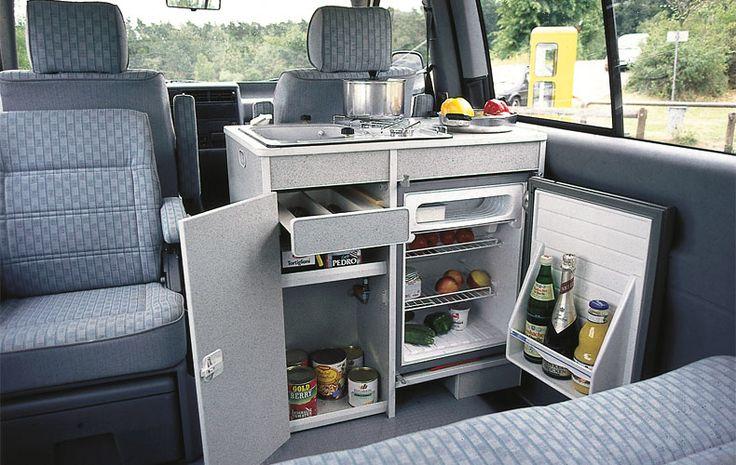 Möbelteile für Volkswagen Transporter 4 Multivan - Klick öffnet Großansicht