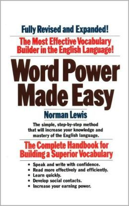 This is a good book for learning vocab for the GRE