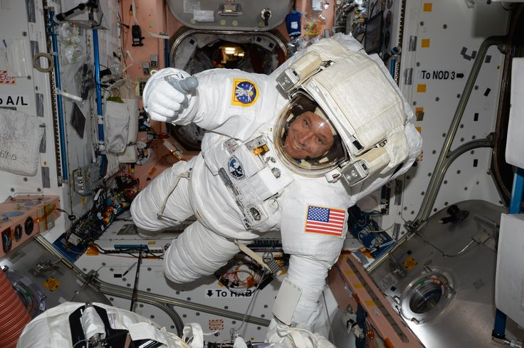 NASA Astronaut Jack Fischer Prepares for Friday Spacewalk Follow @GalaxyCase if you love Image of the day by NASA #imageoftheday