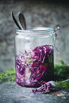 Behave | Crispy Red Cabbage & Grape Salad | Green Kitchen Stories