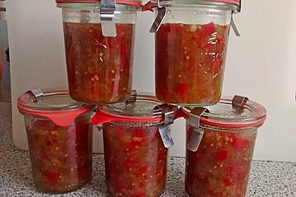 Süßes Gurkenrelish, ein raffiniertes Rezept aus der Kategorie Haltbarmachen. Bewertungen: 3. Durchschnitt: Ø 4,0.