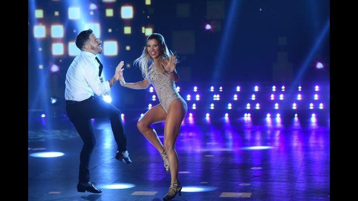 ¡Fede Bal y Laurita Fernández se lucieron como campeones en el Rock de s...