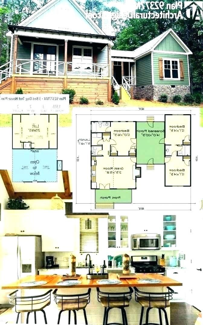 Small Efficient Home Plans 2020