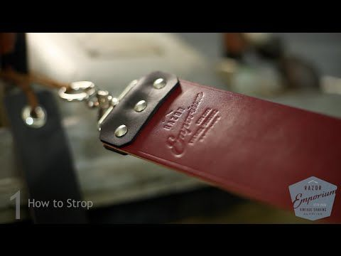 How To Straight Razor Strop | Naked Armor – Naked Armor Razors | Great Straight Razors For Men