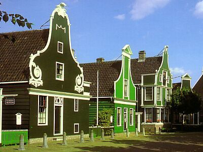 Holland, Zaanse Schans: A little land of windmills outside Amsterdam. Amazing cheese too!
