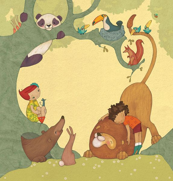 Care For Our World Book by Alexandra Ball, via Behance
