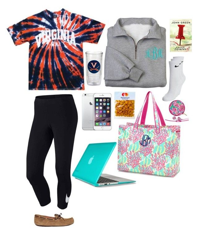 """""""Traveling in the car"""" by lillianwilsonn ❤ liked on Polyvore featuring UGG Australia, Speck, NIKE, Lilly Pulitzer and twosetsforelizoctfirst"""