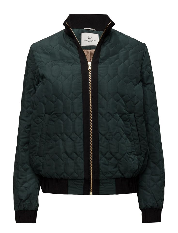 DAY - Day Sota Front zip closure Inner lining Quilted design Bomber style Cool Modern