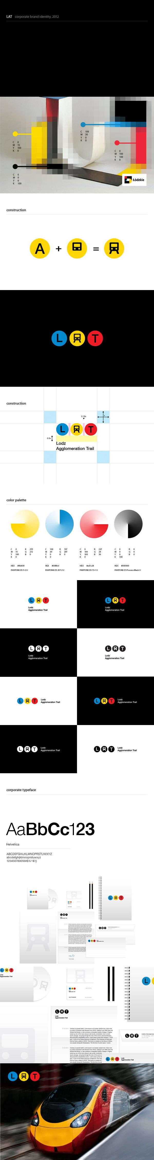 Logo design and Corporate Identity for LAT