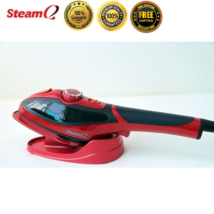 Steam Q2 Handheld Electric Portable Steamer Iron Brush Laundry Clothes Garment New #Goodway 2 in 1 iron Capabilities Ironing can be so much fun with the Steam Q2 Iron Quick crease removal at the touch of your hand Powerful steamer Experience the convenience of the Goodway Steam Q2 handheld garment steamer. Just press the trigger and quickly remove creases with continuous steam. Ironing has never been easier.